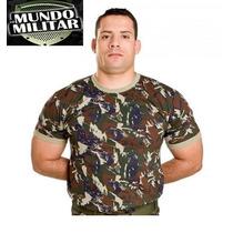 Camiseta Camuflada Aeronáutica 12 X Sem Juros