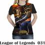 Camiseta Blusa Games League Of Legends Feminina Lol 031