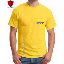 Camiseta Gol Gti Quadrado Personalizada Carros Antigos