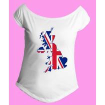 Camiseta Feminina G. Canoa Inglaterra Reino Unido Londres 14