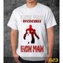 Camiseta Iron Man Camisa Games Herois Desenhos Series