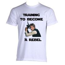 Camiseta Training To Become Rebel Rebelde Star Wars 01