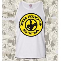 Camiseta Regata Johnny Bravo Gym Sátira Engraçada Maromba