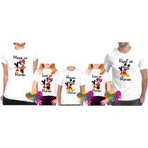 Kit 5 Pçs Camisa Personalizada Qualquer Tema P/festa A4