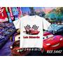 Camiseta Mcqueen Carros Infantil Personalizada Com Nome