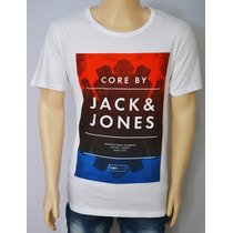 Camiseta Barata Masculina Jack E Jones Modelo Exclusivo