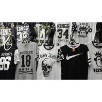 Kit 10 Camisas Kings Sneakers Swag Rap Hip Hop Frete Gratis