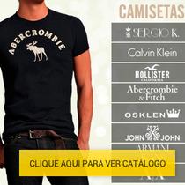 Camisetas Hollister | Abercrombie | John John | Osklen