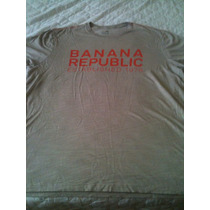 Camiseta Masculina Banana Republic Tam Xl