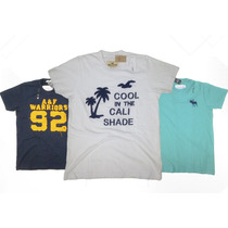 Camisetas Abercrombie & Fitch E Hollister 100% Original