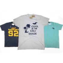 Camisetas Abercrombie & Fitch E Hollister 100% Original
