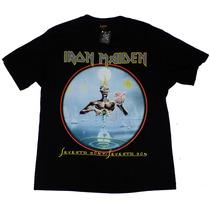 Camiseta De Banda - Iron Maiden - Seventh Son Of A Seventh