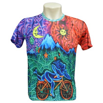 Camiseta - Bike 100 Psicodélico - Personalizado