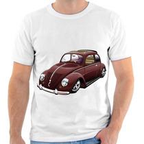 Camiseta De Fusca,carro,estampada 1