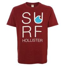Camiseta Masculina Hollister Surf Hco Brd