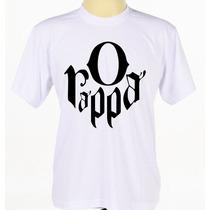 Camiseta Camisa Personalizada O Rappa Rock Reggae Pop Rap