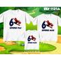 Lembrança De Aniversario Homem Aranha Camiseta Kit Com 3