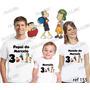 Lebrança De Aniversário Turma Do Chaves Camiseta 3 Un