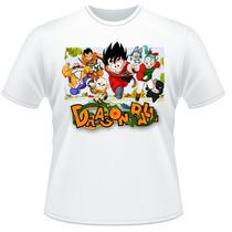 Camiseta Infantil Dragon Ball Anime Desenho Camisa #3