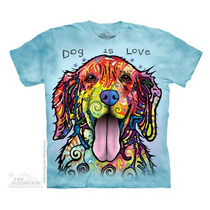Camiseta Dean Russo - Dog Is Love - The Mountain