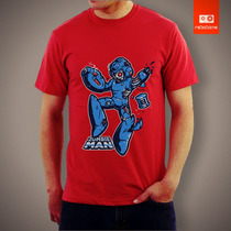 Camisetas Games Mega Man Rockman Nintendo Nintendinho Zombie