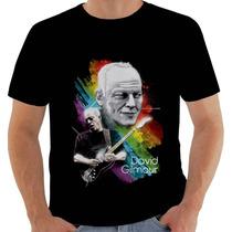 Camiseta Camisa David Gilmour Pink Floyd - Modelo 3