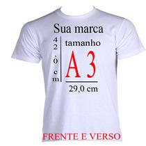 Camiseta Personalizada! Estampe A Sua Idéia / Nome / Imagem