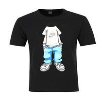 Camisa B-boy Nike Black Hip Hop Esporte Balada