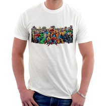 Camiseta Marvel Super Heróis - Homem Aranha - Homem De Ferro