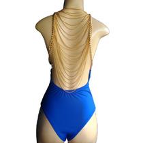 Body Correntes Body Feminino Costa Nua Pronta Entrega