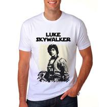 Camiseta Star Wars Luke Skywalker Aliança Rebelde Geek 3