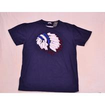 Camiseta Abercrombie Azu Tamanho G