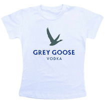 Camiseta Baby Look Feminina - Grey Goose Vodka