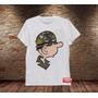 Camiseta Masculina Recruta Zero Sargente Tainha Engraçada
