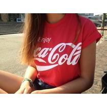 Blusa Feminina, Blusa Cropped, Coca Cola Cropped