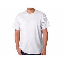 Camiseta Branca, Lisa, Sublimação, Fio 30.1 100 % Algodão