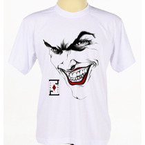 Camisa Camiseta Personalizada Coringa Batman Joker