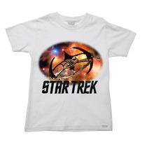 Camiseta Infantil Star Trek Jornada Nas Estrelas F - 2 Ao 16