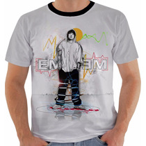 Camiseta Eminem - Rapper - Rap - Modelo 4