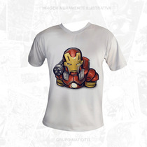 Camisa Homem De Ferro - Marvel - Oficial - Iron Man Avengers