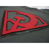 Camisa Camiseta Blusa Superman Superhomem Vermelho Comunista