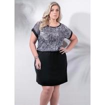 Vestido Feminino - Plus Size G Gg Xxg Xlg Gordinhas Lindas