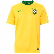 Camisa Nike Seleção Brasileira Cbf Brasil Dri Fit De 129 Por