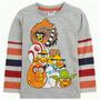 Camiseta Manga Longa Angry Birds