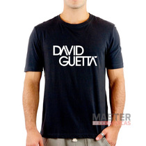 Camiseta Dj David Guetta Balada Festa 100% Algodão