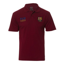 Camisa Polo Barcelona Licenciada Meltex 1426 Vinho