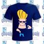 Camisetas Personalizadas Johnny Bravo Desenho Animado