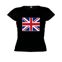 Camiseta Baby Look Inglaterra