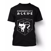 Camiseta - The Big Bang Theory (gato De Schrodinger)