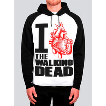 Blusa The Walking Dead Moletom Camiseta Zumbi Série Heróis